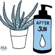 Sonnenbrand Hausmittel, Symptome bei Kindern