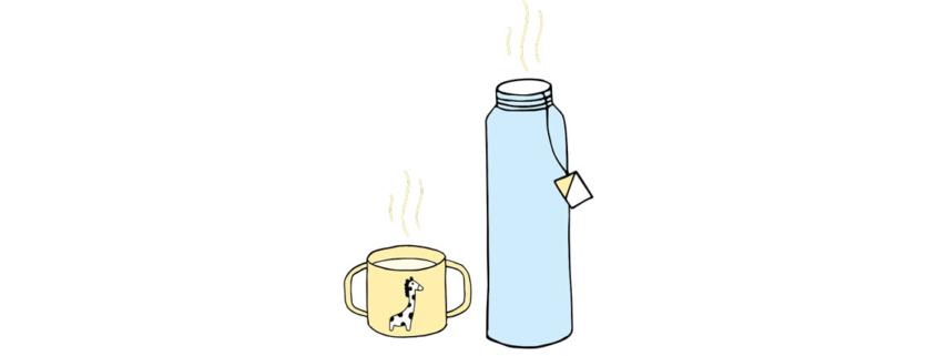 Verbrennung: Heiße Flüssigkeiten führen zu Verbrühungen bei Babys und Kleinkindern