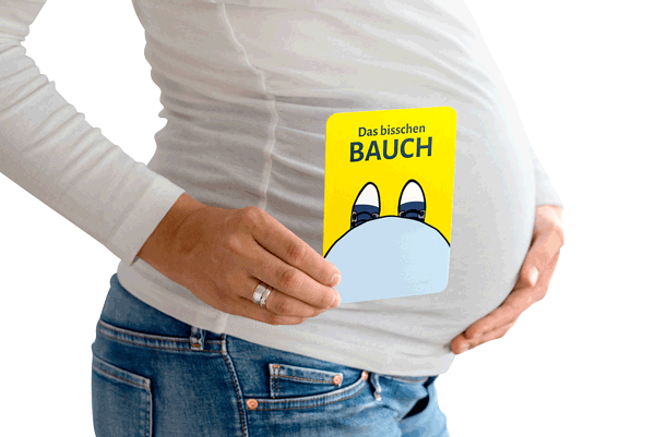 Meilensteinkarten für die Schwangerschaft